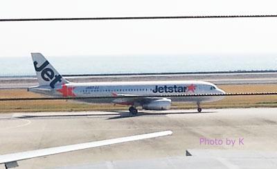 ジェットスターの機体