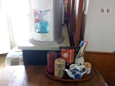 ウォーターサーバー オアシス 食卓テーブル