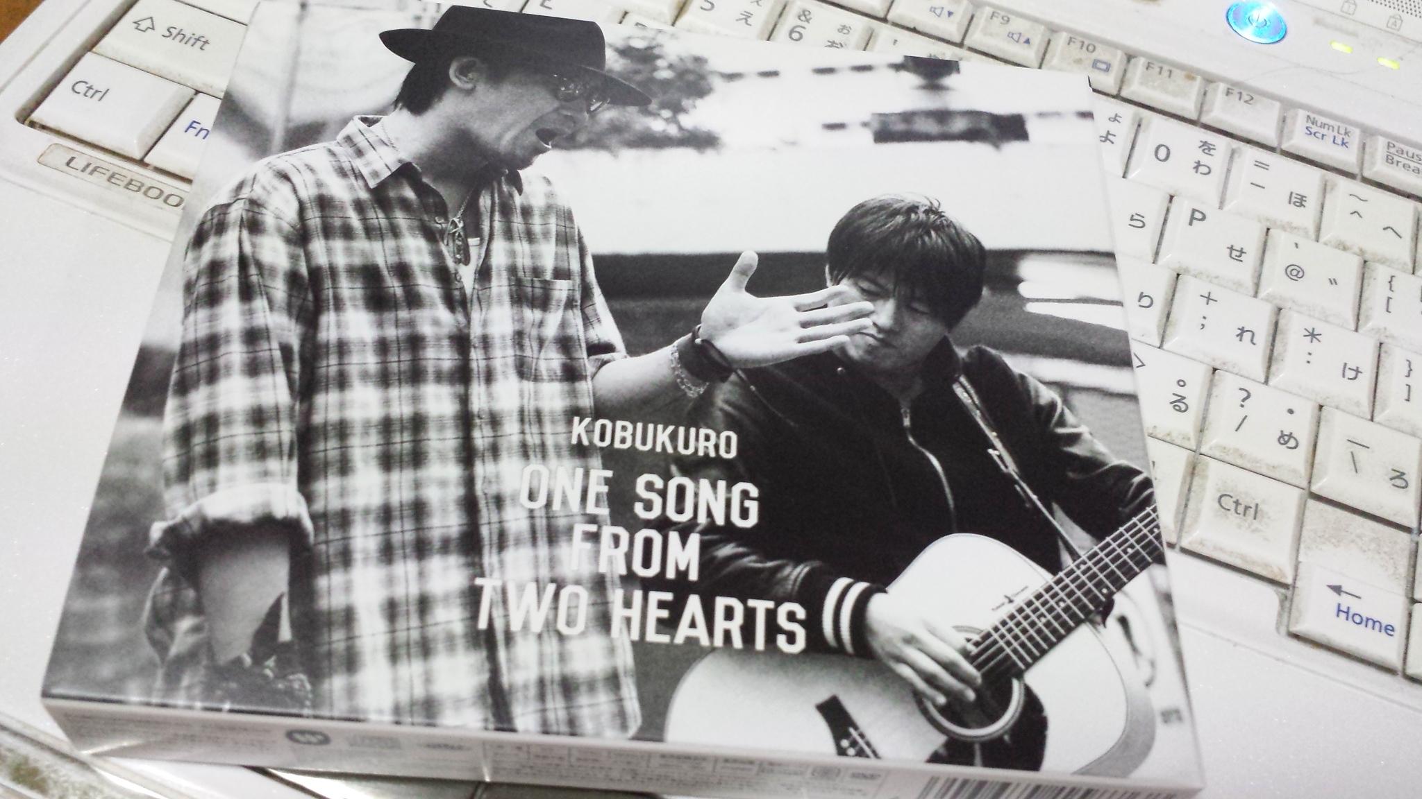 コブクロ「ONE SONG FROM TWO HEARTS」