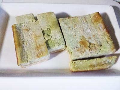 ベルーナグルメ訳あり抹茶チーズケーキバー