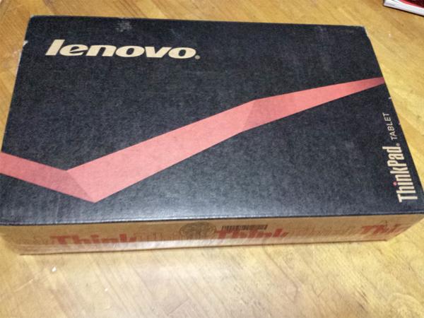 レノボのタブレット lenovo Thinkpad tab2-01