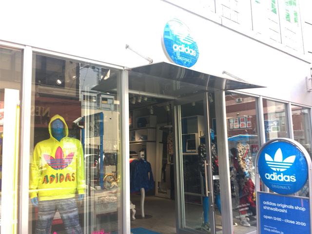 アディダスオリジナルスショップ(大阪心斎橋店)