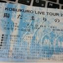 コブクロ2014ライブツアー陽だまりの道ツアーチケット